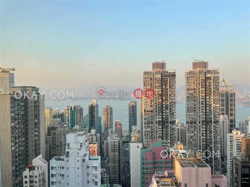2房1廁,實用率高,極高層金鳳閣出租單位1-2聖士提反里 | 西區香港|出租-HK$ 25,000/ 月
