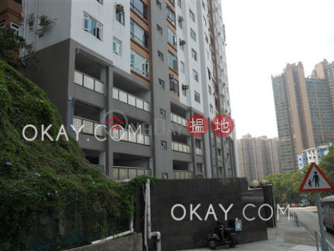 Tasteful 1 bed on high floor with sea views & parking | For Sale|Block C1 – C3 Coral Court(Block C1 – C3 Coral Court)Sales Listings (OKAY-S384672)_0