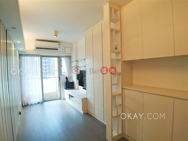 HK$ 8.18M, Grand Villa, Eastern District, Cozy 1 bedroom on high floor with balcony | For Sale