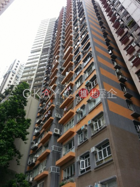 Stylish 1 bedroom with terrace | Rental, Rhine Court 禮賢閣 Rental Listings | Western District (OKAY-R55597)