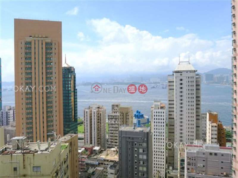 Unique 2 bedroom on high floor with harbour views | For Sale | One Pacific Heights 盈峰一號 Sales Listings