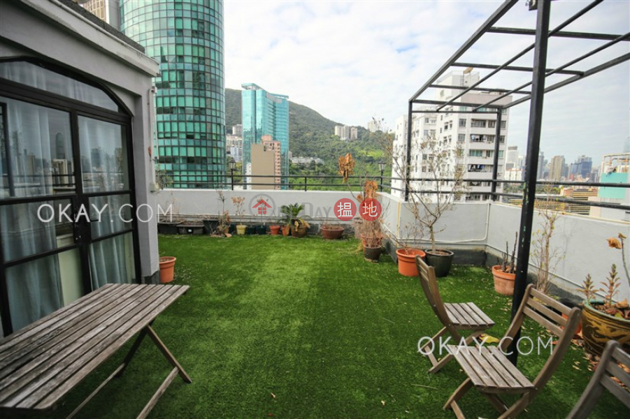Efficient 4 bed on high floor with rooftop & parking | For Sale, 25- 27 Ventris Road | Wan Chai District Hong Kong Sales | HK$ 41M