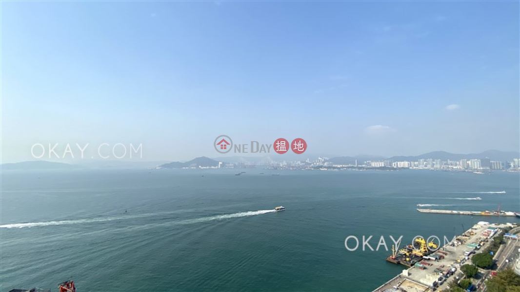HK$ 65,000/ month, The Kennedy on Belcher\'s   Western District Luxurious 3 bed on high floor with sea views & balcony   Rental
