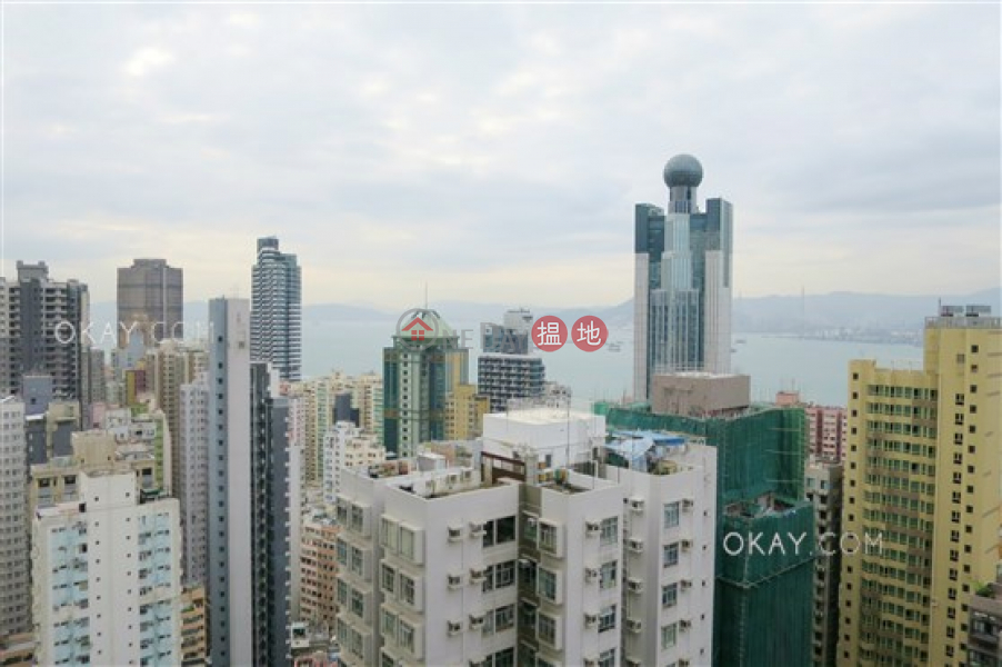 Lovely 1 bedroom on high floor with sea views & balcony   For Sale, 88 Third Street   Western District   Hong Kong   Sales HK$ 12.8M