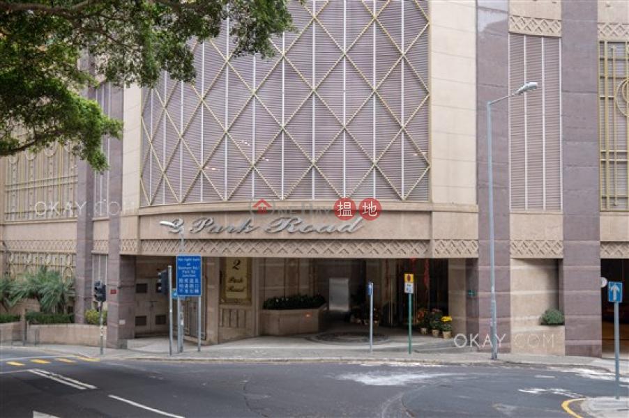 3房2廁,極高層,可養寵物,露台《柏道2號出租單位》|柏道2號(2 Park Road)出租樓盤 (OKAY-R47021)