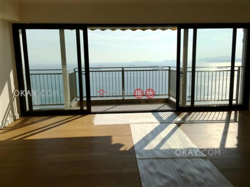 Efficient 3 bed on high floor with sea views & balcony | Rental 56-62 Mount Davis Road | Western District, Hong Kong Rental, HK$ 75,000/ month