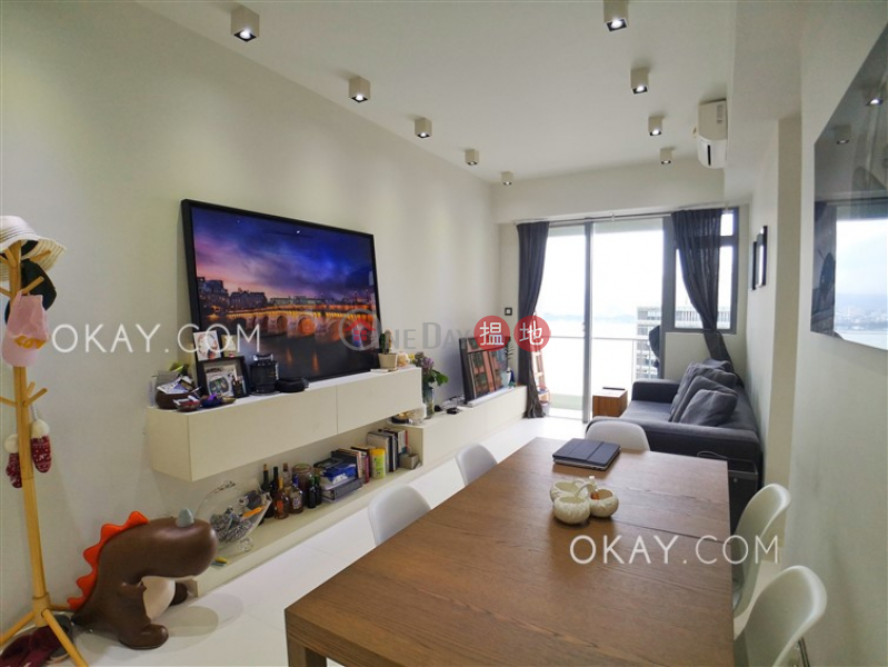 Lovely 2 bedroom on high floor with sea views & balcony | For Sale | One Pacific Heights 盈峰一號 Sales Listings