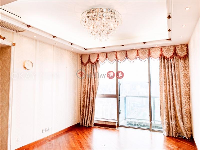 Nicely kept 4 bedroom on high floor with balcony | Rental | The Hermitage Tower 3 帝峰‧皇殿3座 Rental Listings