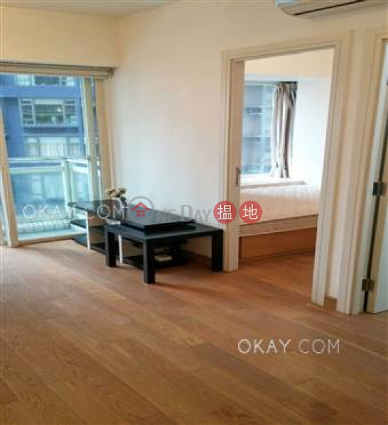HK$ 1,125萬-聚賢居中區-2房1廁,星級會所,可養寵物,露台《聚賢居出售單位》