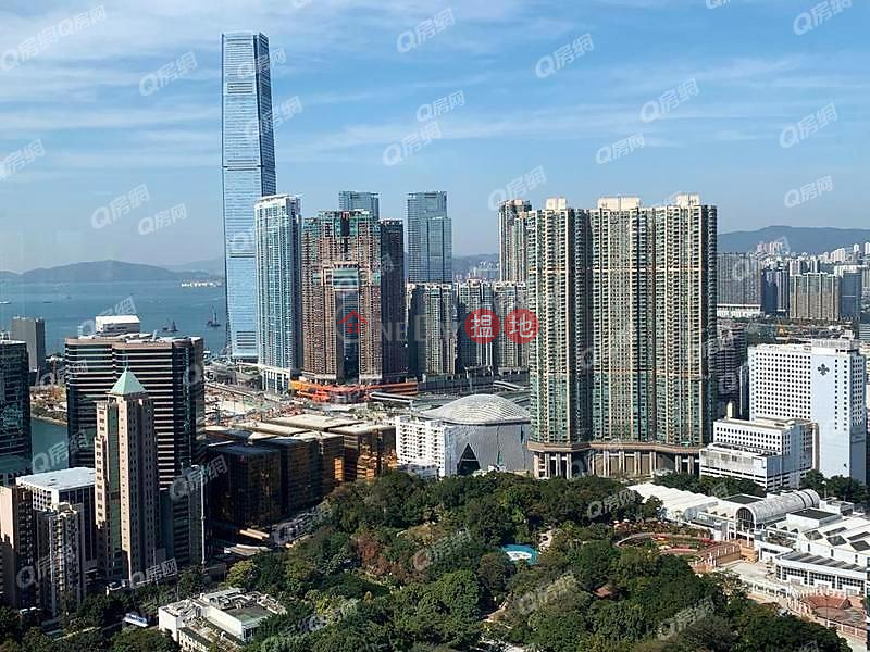 HK$ 60,000/ 月-名鑄-油尖旺-名人大宅,維港海景,廳大房大,品味裝修,環境優美!名鑄租盤