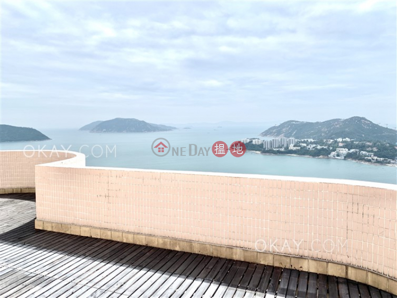 Unique penthouse with sea views, terrace & balcony | Rental | Pacific View 浪琴園 Rental Listings