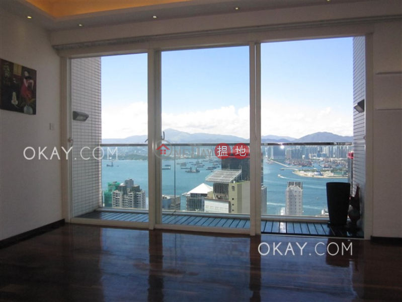 Property Search Hong Kong | OneDay | Residential, Rental Listings, Unique 3 bed on high floor with harbour views & balcony | Rental