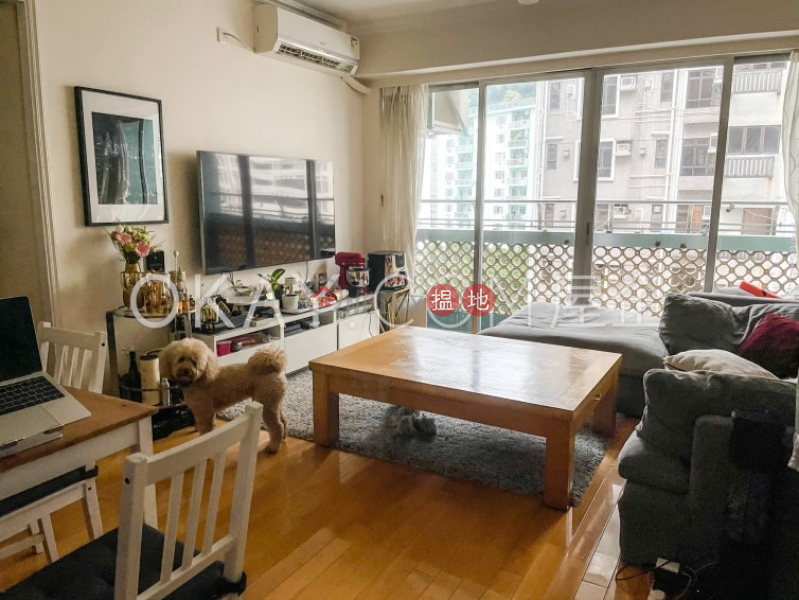 Property Search Hong Kong   OneDay   Residential, Rental Listings, Tasteful 1 bedroom on high floor with balcony   Rental