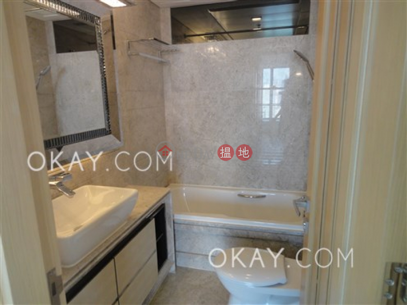 Unique 3 bedroom on high floor with balcony & parking | Rental | Kennedy Park At Central 君珀 Rental Listings