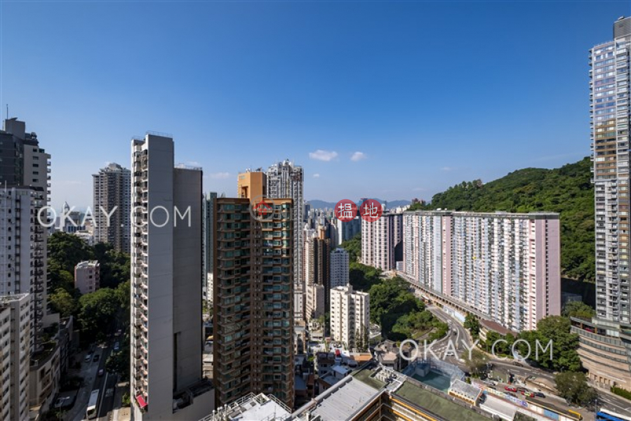 HK$ 43.8M | Dragon Garden, Wan Chai District | Efficient 3 bed on high floor with balcony & parking | For Sale