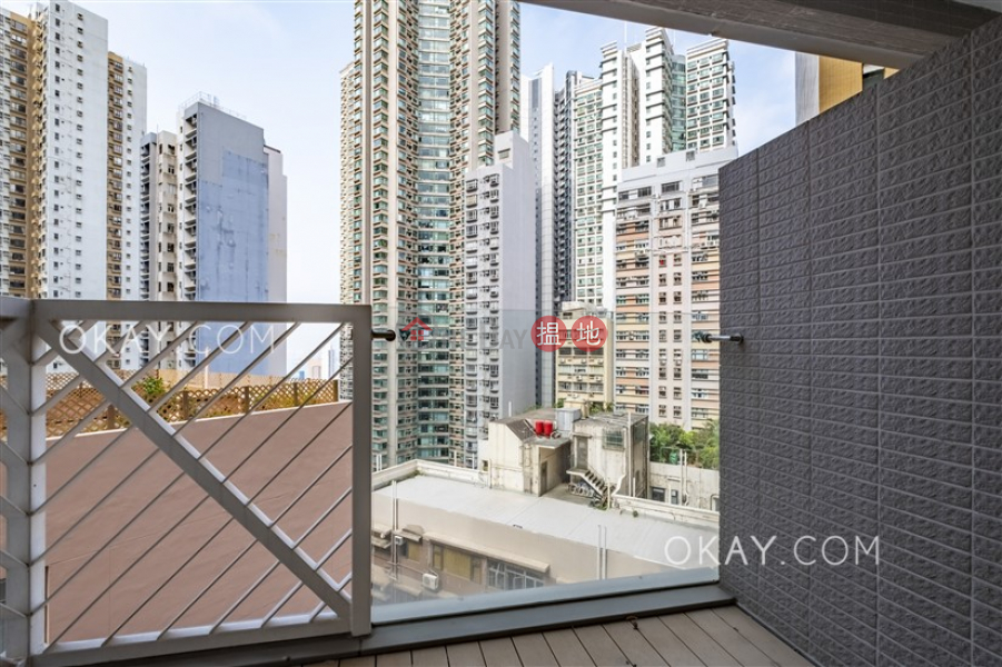 Unique 1 bedroom with balcony | Rental, The Icon 干德道38號The ICON Rental Listings | Western District (OKAY-R10079)