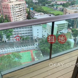 Charming 2 bedroom on high floor with balcony | Rental
