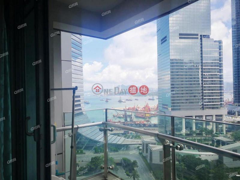 開揚遠景,旺中帶靜,鄰近地鐵,鄰近高鐵站,有匙即睇《君臨天下1座租盤》|1柯士甸道西 | 油尖旺-香港|出租HK$ 60,000/ 月