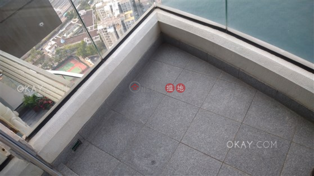 Property Search Hong Kong | OneDay | Residential Sales Listings | Exquisite 3 bed on high floor with sea views & balcony | For Sale