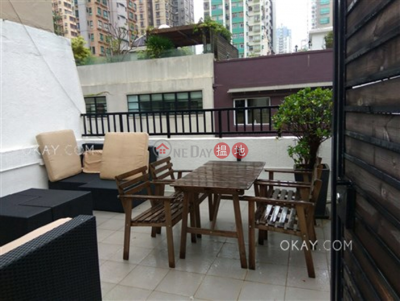 Generous 1 bedroom on high floor with rooftop | For Sale | 44-46 Sai Street | Central District Hong Kong Sales | HK$ 9.3M