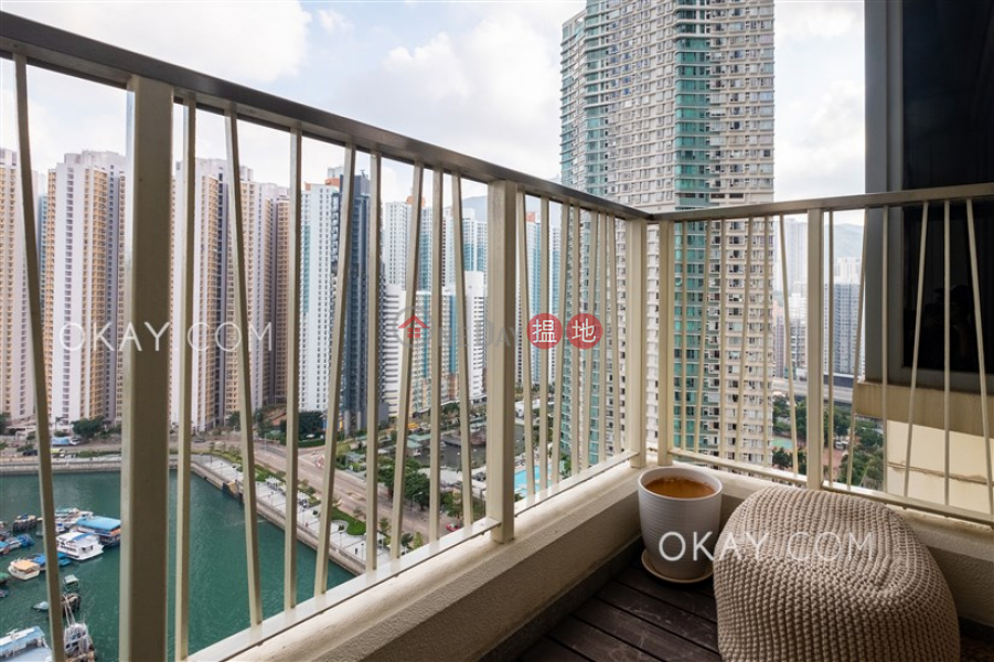 HK$ 13M, Tower 6 Grand Promenade Eastern District | Luxurious 1 bedroom with sea views, balcony | For Sale