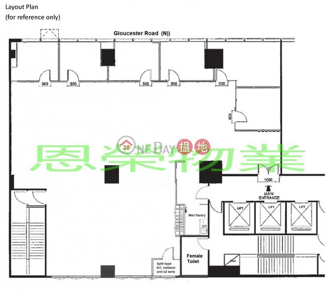 詳情請致電98755238-128告士打道 | 灣仔區香港-出租|HK$ 124,000/ 月