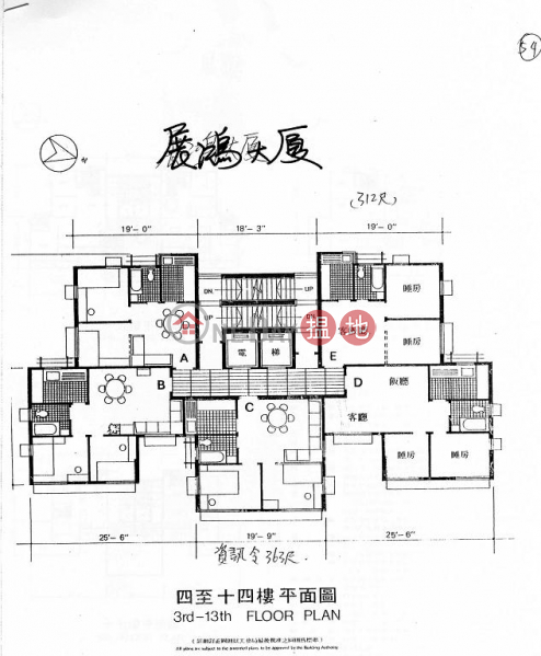 Chin Hung Building, 106 Residential, Rental Listings, HK$ 15,000/ month