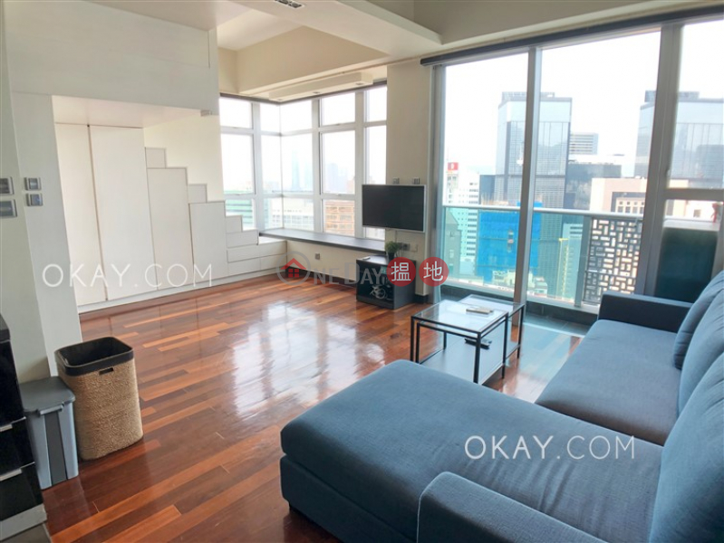 Property Search Hong Kong | OneDay | Residential | Rental Listings | Tasteful high floor with harbour views & balcony | Rental