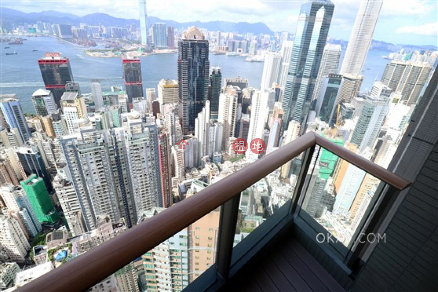 Exquisite 3 bedroom on high floor with balcony | Rental, 100 Caine Road | Western District Hong Kong Rental | HK$ 100,000/ month