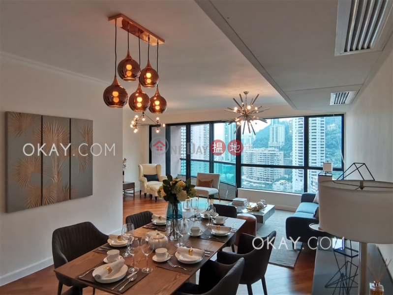 Unique 3 bedroom with balcony & parking | Rental, 17-23 Old Peak Road | Central District, Hong Kong | Rental HK$ 84,000/ month