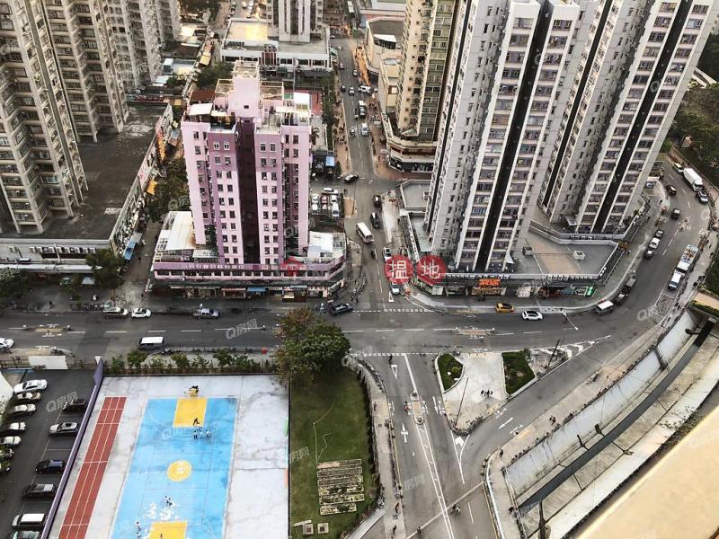 內園靚景,廳大房大,環境清靜,核心地段,乾淨企理《Yoho Town 1期9座租盤》 8元龍街   元朗 香港 出租HK$ 19,000/ 月