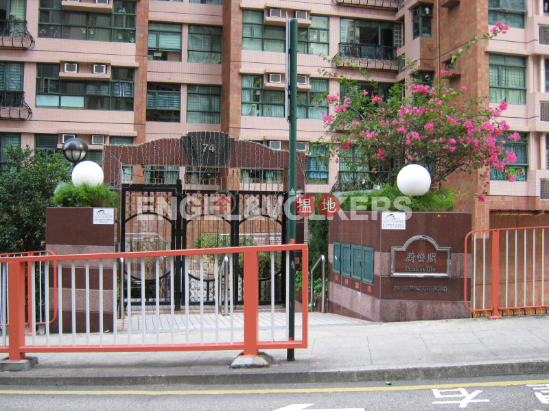 Studio Flat for Rent in Mid Levels West 74 Robinson Road | Western District | Hong Kong | Rental, HK$ 24,500/ month