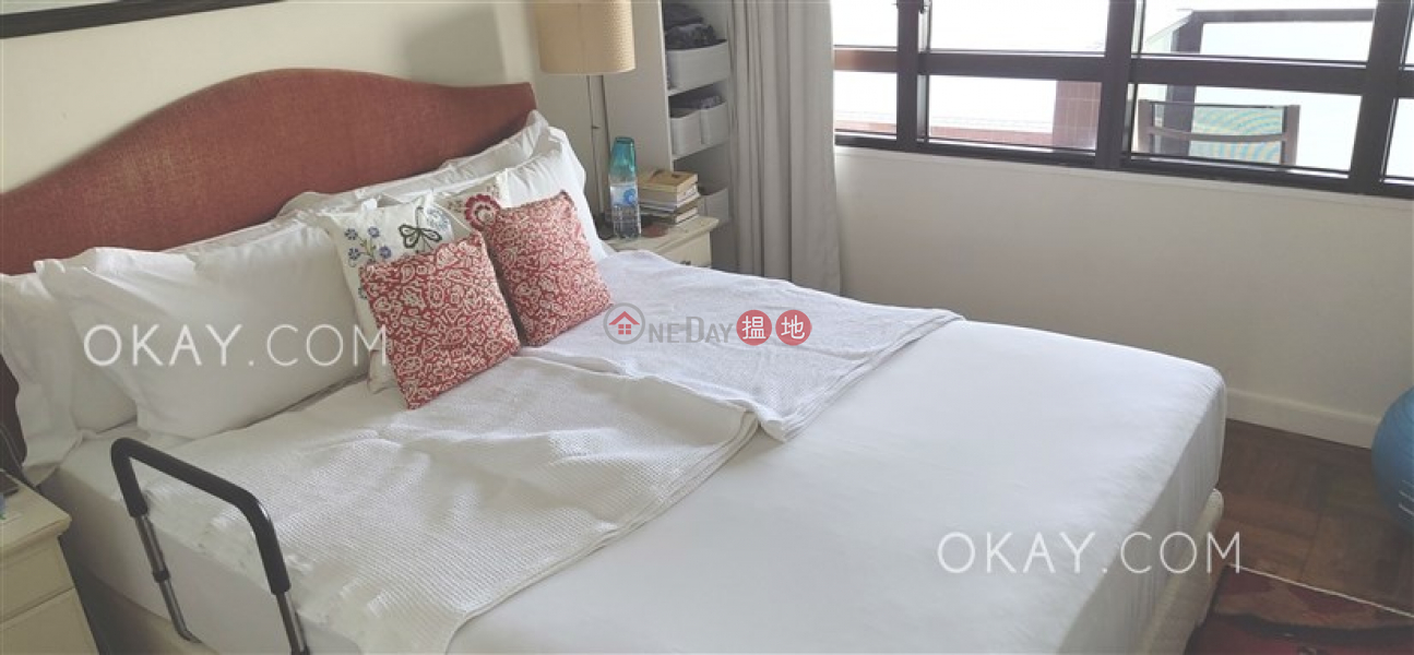 Rare 2 bedroom on high floor with sea views & balcony | Rental | Pacific View 浪琴園 Rental Listings