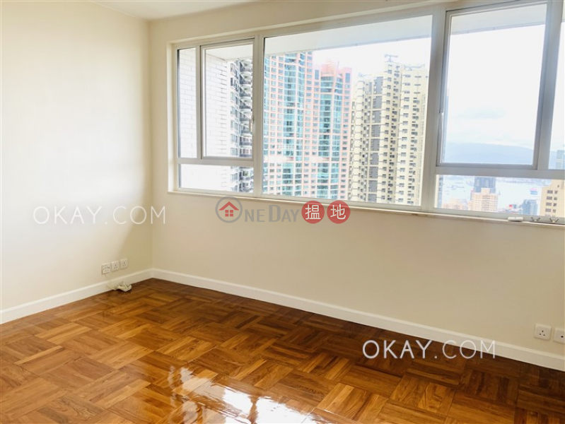 HK$ 94,000/ month, May Tower 1 Central District Stylish 3 bed on high floor with sea views & balcony | Rental