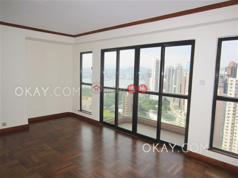 Luxurious 3 bed on high floor with balcony & parking | Rental, 8 Tai Hang Road | Wan Chai District Hong Kong, Rental | HK$ 57,000/ month