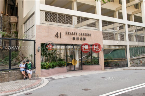 Efficient 2 bed on high floor with balcony & parking | Rental|Realty Gardens(Realty Gardens)Rental Listings (OKAY-R40936)_0