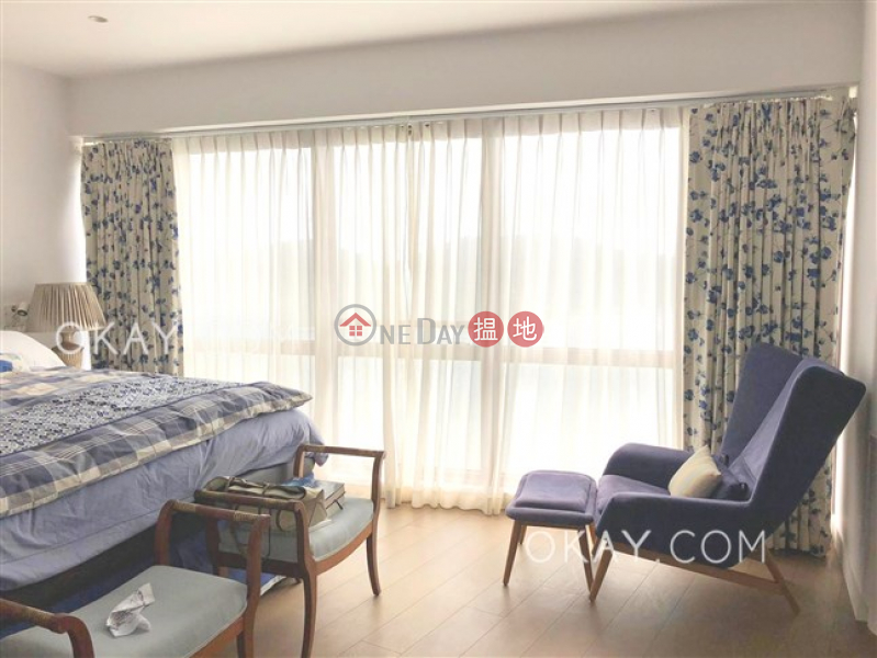 Stylish 2 bed on high floor with sea views & balcony | Rental | Pacific View 浪琴園 Rental Listings