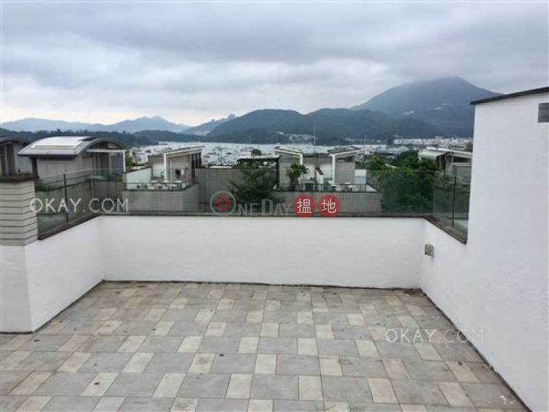 Gorgeous house with balcony   Rental, The Giverny House 溱喬座 Rental Listings   Sai Kung (OKAY-R51136)