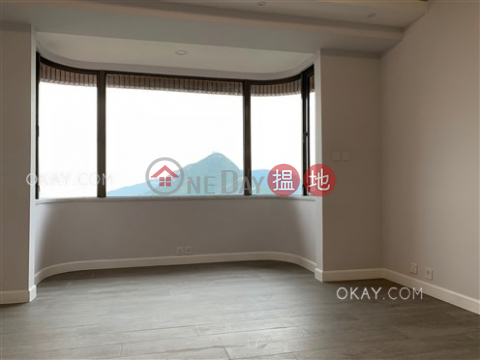 Stylish 3 bedroom with balcony & parking | Rental|Parkview Heights Hong Kong Parkview(Parkview Heights Hong Kong Parkview)Rental Listings (OKAY-R20978)_0