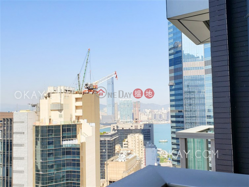 HK$ 52,000/ month | My Central, Central District, Gorgeous 2 bedroom on high floor with balcony | Rental