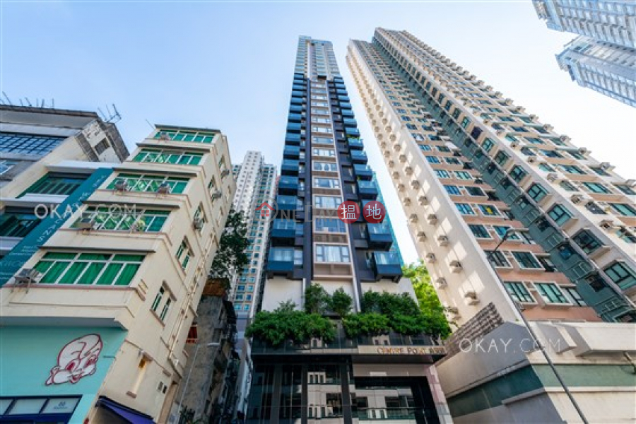 Charming 3 bedroom on high floor with balcony | Rental | Centre Point 尚賢居 Rental Listings