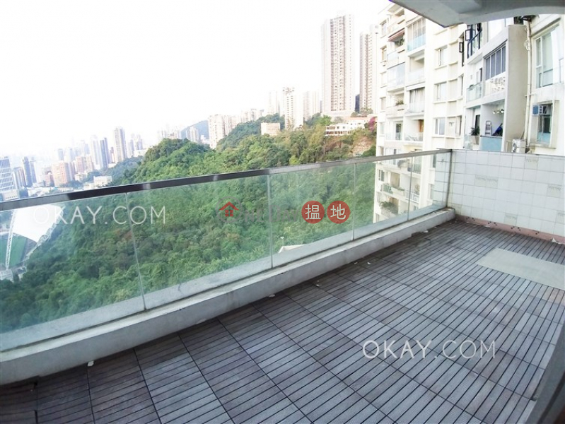 Efficient 3 bedroom with balcony & parking | Rental 148-150 Tai Hang Road | Wan Chai District Hong Kong Rental, HK$ 62,000/ month