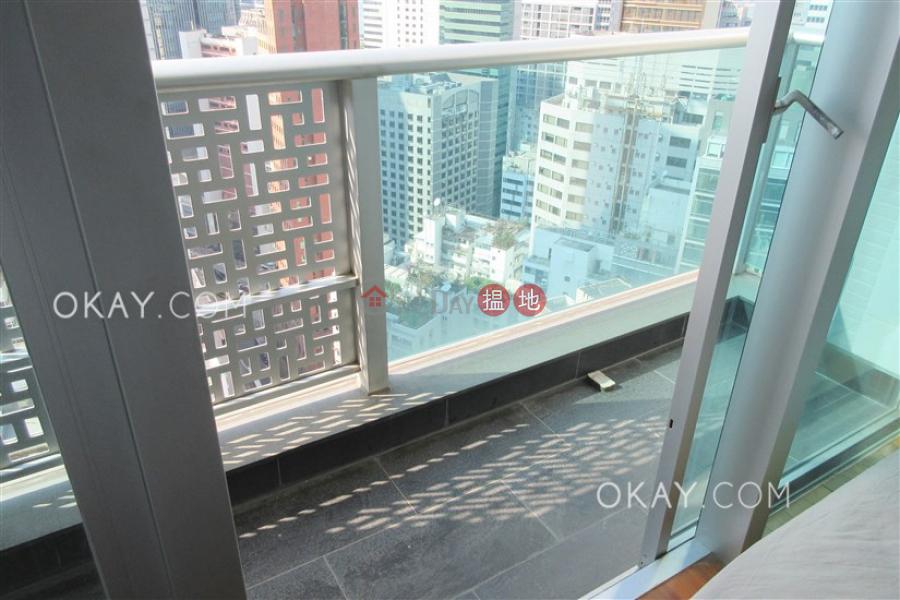 Charming 1 bedroom on high floor with balcony | Rental | J Residence 嘉薈軒 Rental Listings