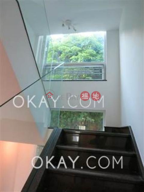 Stylish house with sea views, rooftop & balcony | For Sale|Tai Hang Hau Village(Tai Hang Hau Village)Sales Listings (OKAY-S289644)_0