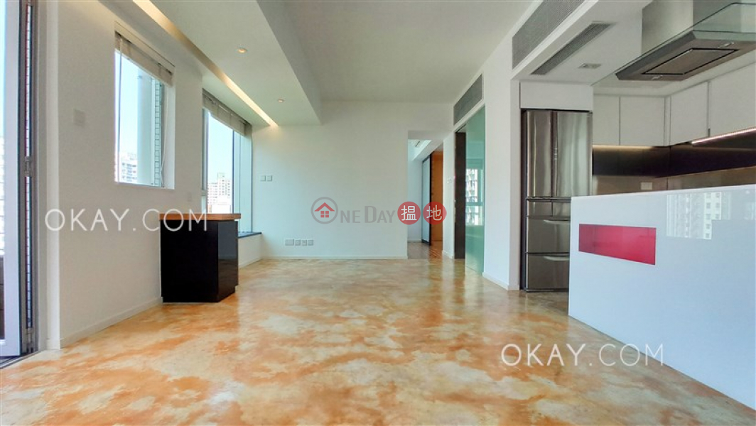 HK$ 46,000/ month   Cherry Crest Central District Rare 1 bedroom with balcony   Rental