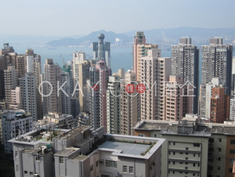 Efficient 3 bedroom with harbour views & balcony   Rental, 41 Conduit Road   Western District Hong Kong Rental   HK$ 57,000/ month