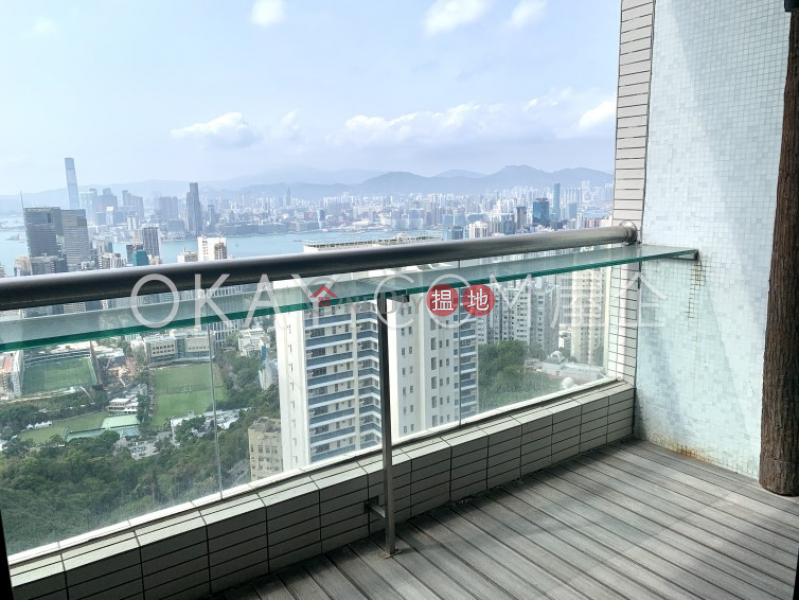 Property Search Hong Kong   OneDay   Residential Rental Listings, Unique 3 bed on high floor with harbour views & balcony   Rental