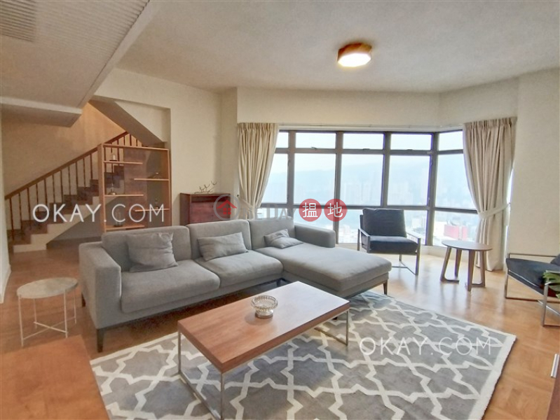 Stylish penthouse with racecourse views, terrace | Rental, 74-86 Kennedy Road | Eastern District | Hong Kong, Rental, HK$ 170,000/ month