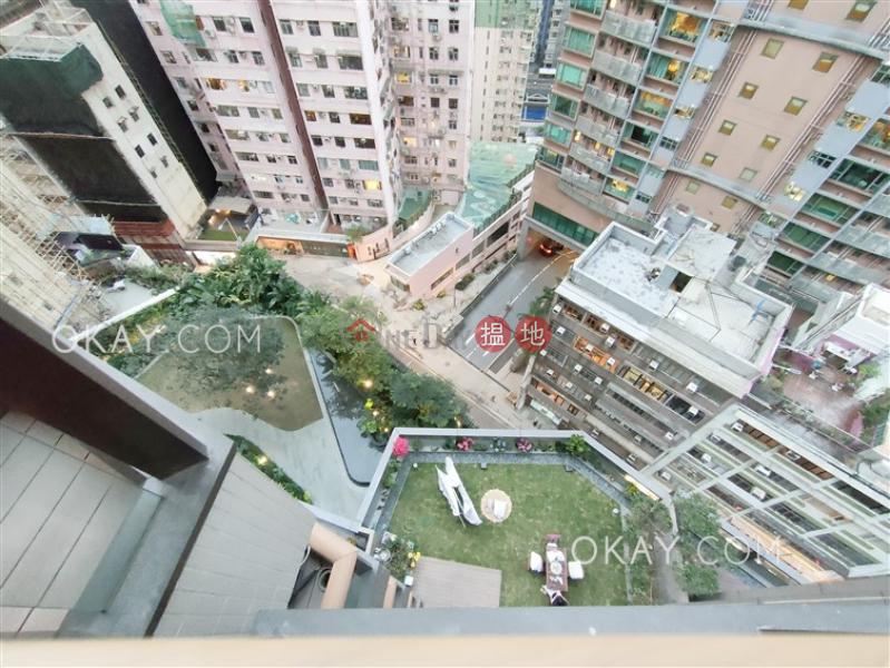 2房1廁,星級會所,露台殷然出租單位-100堅道   西區香港 出租HK$ 34,000/ 月