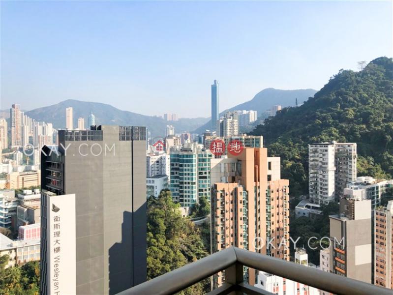 香港搵樓 租樓 二手盤 買樓  搵地   住宅出租樓盤2房1廁,極高層,星級會所,露台尚翹峰1期2座出租單位